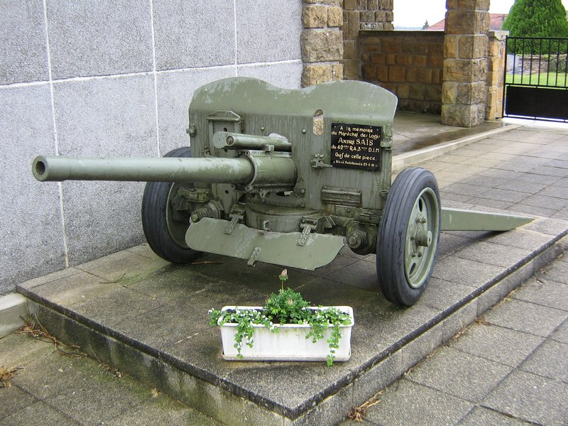 German 50 Mm Anti Tank Gun: 47mm Mle1937 Anti Tank Gun